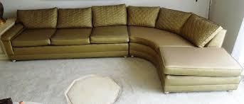 vintage 1960s sofa couch vinyl gold color for sale antiques com