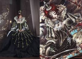 Trinity Halloween Costume Ester Blanchett Trinity Blood Sister Cosplay Dress Thores