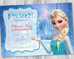 frozen invitation disney frozen elsa invitation disney