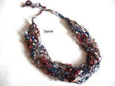 trellis ladder yarn necklace instructions red heart scrubby yarn joann joann craft knit crochet