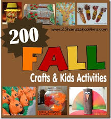 200 fall crafts kids activities printables and snack ideas