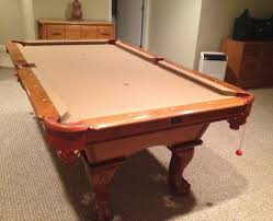 Used Pool Table by Kasson Billiards Ball U0026 Claw Pool Table For Sale Sold Sold Used