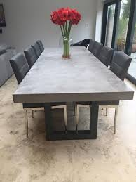 3 Metre Dining Table 3 Metre Polished Concrete Dining Table Home Is Where The Design