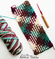 how to do color pooling in crochet