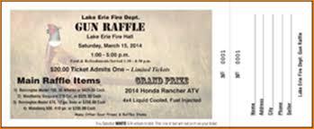 12 gun raffle tickets bibliography format