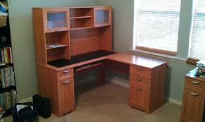realspace landon desk with hutch office desk office depot desk hutch brilliant about remodel ideas