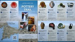hatchville pottery upper cape cod pottery trail brochures just in