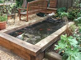 How To Make A Patio Pond Best 25 Raised Pond Ideas On Pinterest Garden Ponds Garden