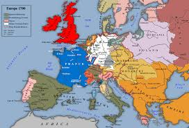 Europe Pre World War 1 Map by Europe Before The War Of The Spanish Succession 1700 1590 X