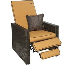 bliss hammocks indoor outdoor euphoria wicker recliner with throw