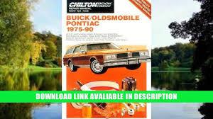 download buick oldsmobile pontiac 1975 90 chilton automotive