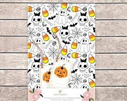 skellington wrapping paper skull wrapping paper etsy