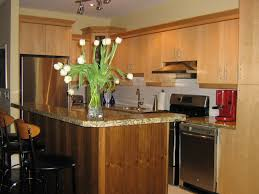 small kitchens with islands designs with beautiful flower on vase