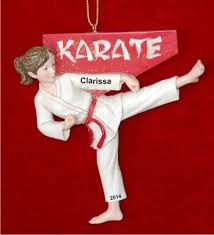 9 best karate ornaments images on pinterest karate personalized