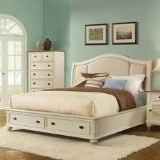 upholstered white bed provencal ivory velvet upholstered bed