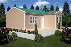 Prefabricated House Single Storey Prefabricated House özge Yapı