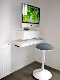 White Wooden Computer Desk Breathtaking Minimalist Wood Computer Desk Pictures Design Ideas
