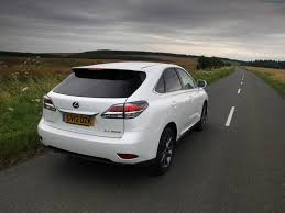 lexus crossover 2013 2013 lexus rx 450h f sport rear angle 4 u2013 car reviews pictures