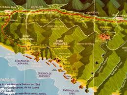 Old San Juan Map Beach Hopping And Horseback Riding In Tayrona National Park