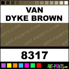 van brown superfine japan enamel paints 8317 van