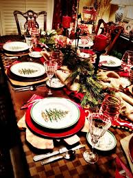image result for spode tree table settings