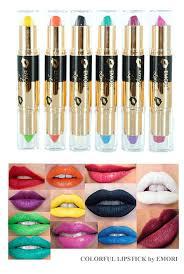 Elegant Colors Amazon Com Vivid Dual Side Classic U0026 Neon 12 Colors Lipstick