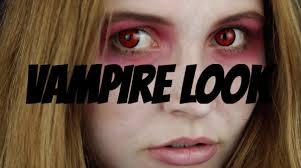 halloween vampire look youtube