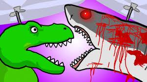 my cute shark attack cartoon 5