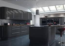 cuisine gris foncé carrelage cuisine gris fonce idées de décoration capreol us