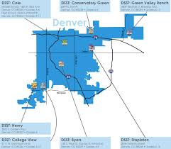 denver schools map dsst by the numbers dsst