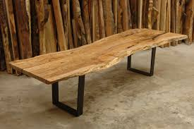 Slab Dining Room Table Single Slab Live Edge Table Live Edge Design Productfind