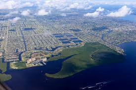Cape Coral Florida Map Retiring In Cape Coral Florida The Florida Living Magazine