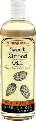 Minyak Almond almond sweet almond 16 fl oz 473 ml skin hair
