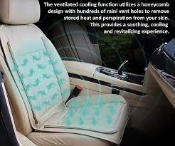 and cooling car seat cushion