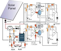 solar panelac mains relay changeover circuit electronic at panel
