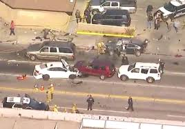 california police chase ends in crash injuring 10 nbc26 wgba tv