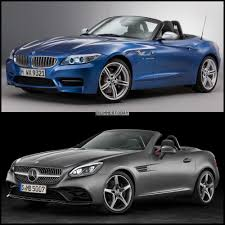 convertible mercedes 2015 image and spec comparison mercedes benz slc class vs bmw z4 e89