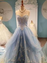 Wedding Dresses Light Blue Dress Wedding Clothes Wedding Dress Cinderella Cinderella