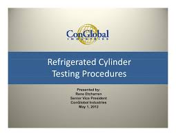 3 refrigerated cylinder testing procedures reefer container gp