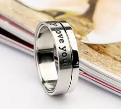 cheap promise rings for men engraved spinner rings cheap promise rings for men vintage