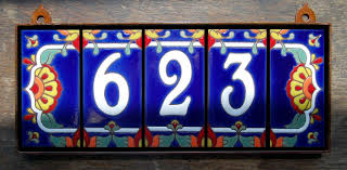spanish tile house numbers probrains org