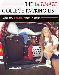 College Toiletries Checklist The Ultimate College Packing List For Freshmen Society19