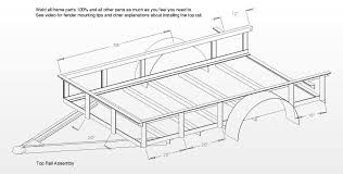 utility trailer plans archives free utility trailer plans