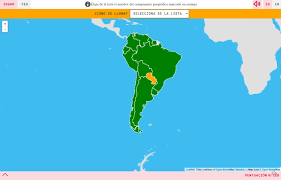 Sur America Map by Interactive Map What U0027s The Name Countries Of South America