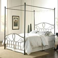 Iron Canopy Bed Wrought Iron Canopy Bed Themodjo