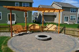 Modern Firepit Pit And Swings