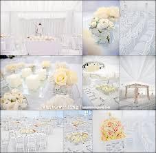 innovative white wedding ideas 25 white wedding decoration ideas