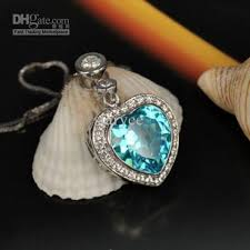 heart necklace from titanic images Titanic heart of the ocean necklace ocean heart 925 silver jpg