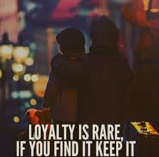 loyalit t spr che loyalty is if you find it keep it quoted
