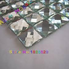 diamond mirror tiles bathroom beveled glass mirror tile shower